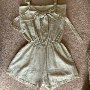 Ileen girl  short jumpsuit